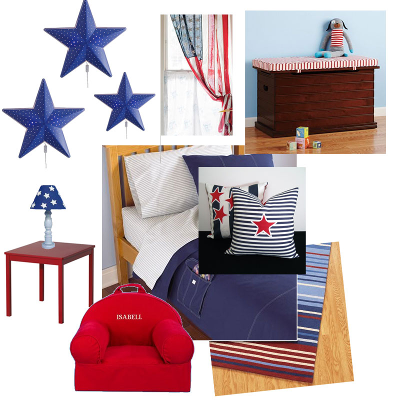Patriotic Theme Room