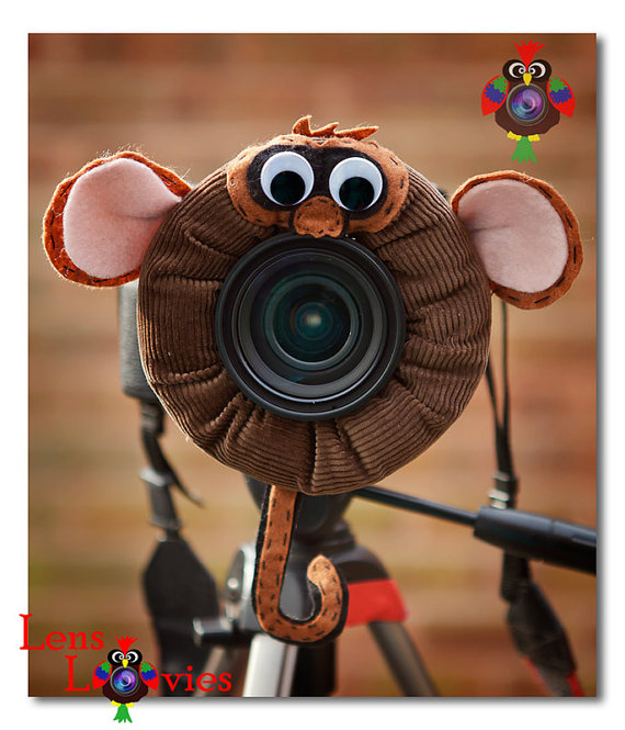 Monkey Lens Wrap for Photographing Children