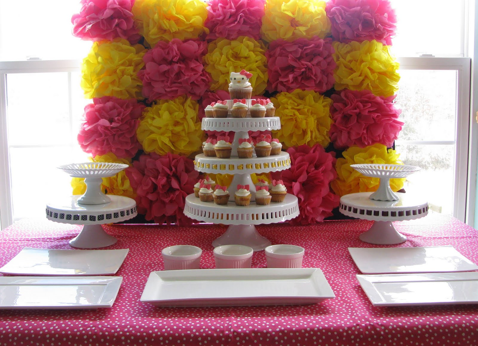 Pom Pom Party Wall Decor for Birthdays