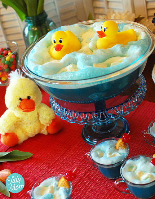 Duck Themed Baby Shower Punch Recipe