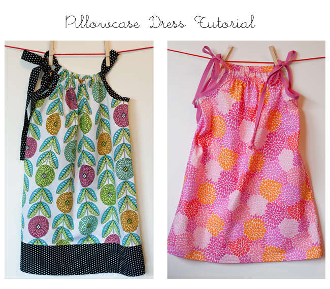 Pillow Case Dress Pattern and Tutorial