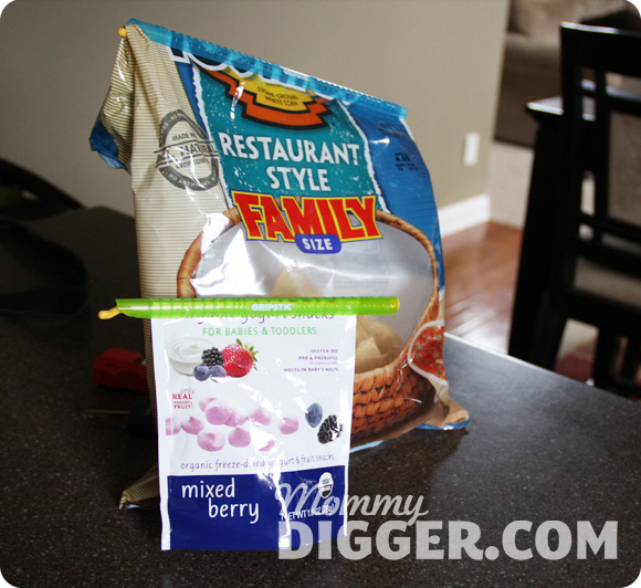 GRIPSTIC Keeps Foods Fresh Review and Giveaway