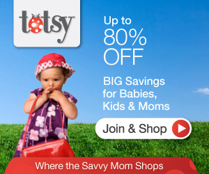 totsy up to 80% off for babies, kids and moms