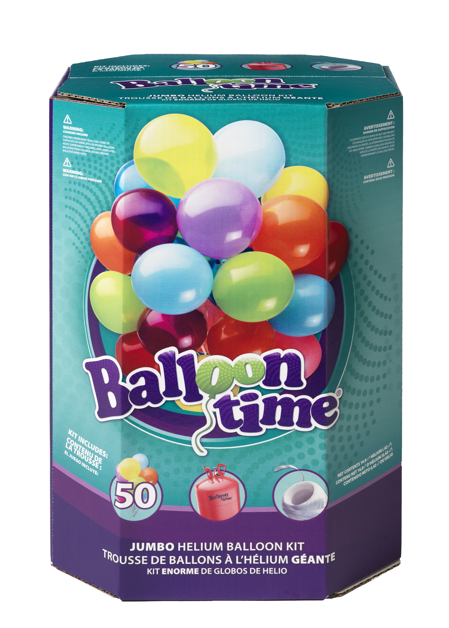 Balloon Time Helium Balloon Kit