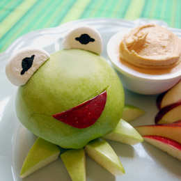 kermit the frog apples muppets recipe