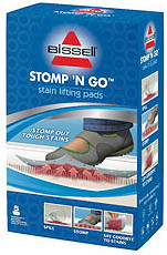 Bissell Stomp 'N Go Stain Lifting Pads