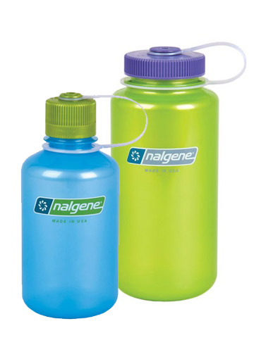 Nalgene Translucent 16oz and 32oz Water Bottle