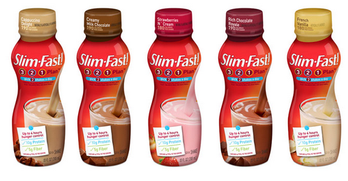 Slim Fast On The Go Shake Review 3-2-1 Plan
