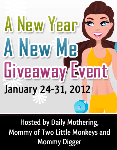 New Year New Me Giveaway Event January 24-31 2012