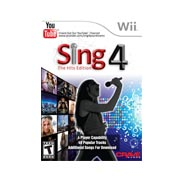 Sing4: The Hits Edition with Microphone for Wii