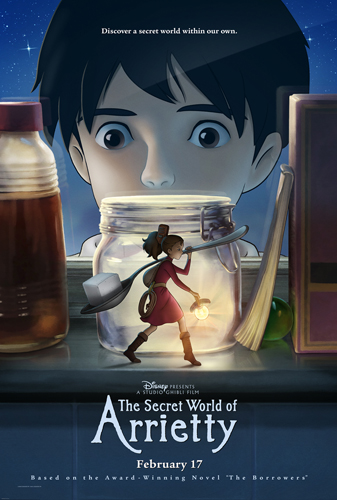 Disney Presents The Secret World of Arrietty