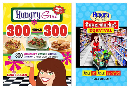 Hungry Girl 300 under 300 and Hungry Girl Supermarket Survival