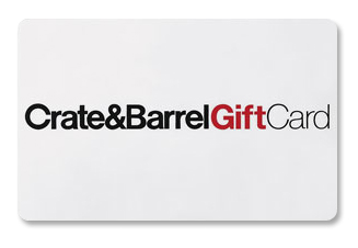 Crate Barrel Gift Card