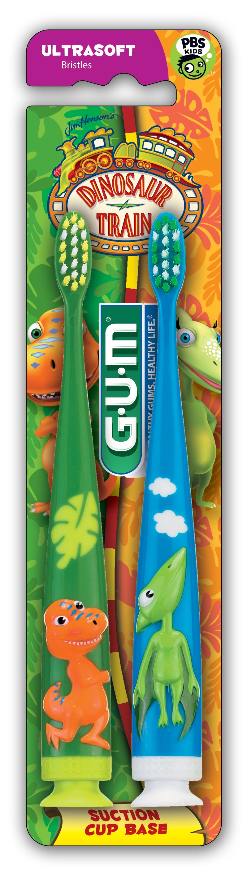 Dinosaur Train GUM Toothbrushes