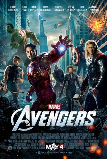 Marvel's The Avengers Coming May 4th