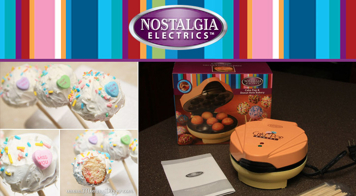 Nostalgia Electrics Cake Pop & Donut Hole Bakery