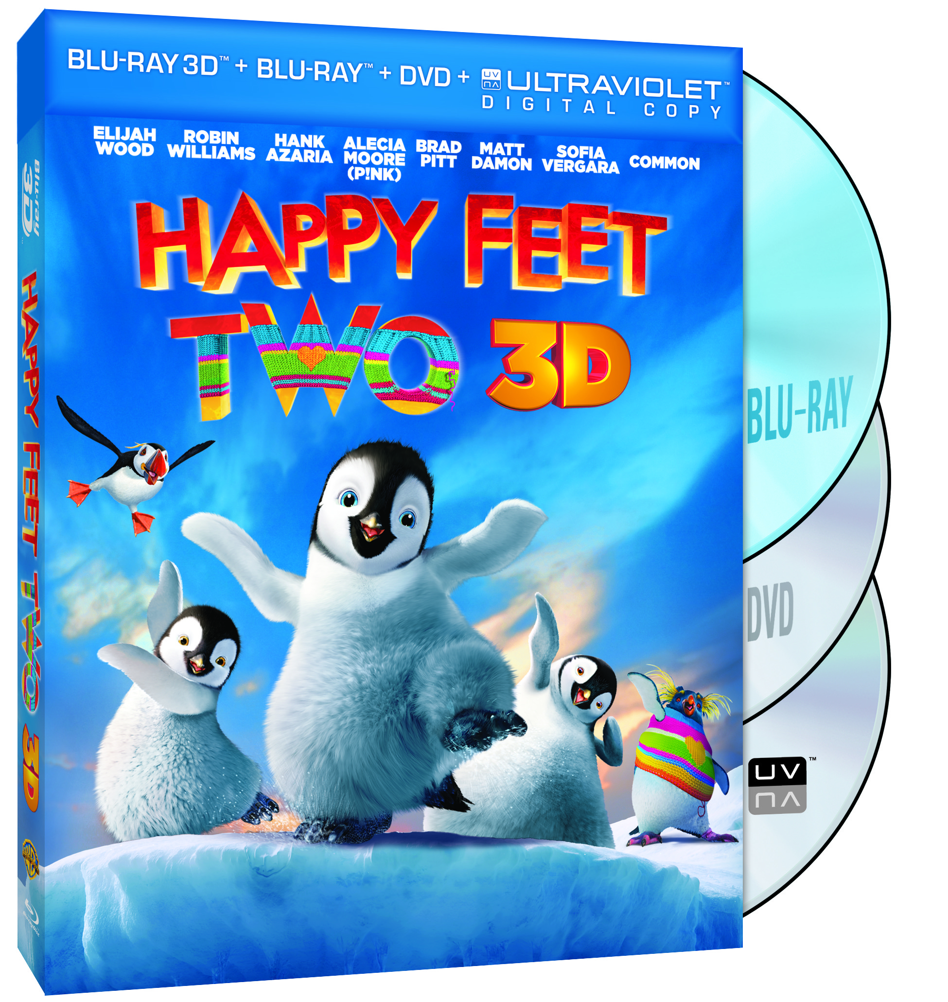 Happy Feet Two 3D Combo Pack
