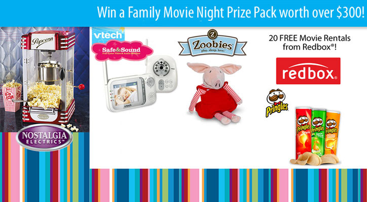 Family Movie Prize Pack