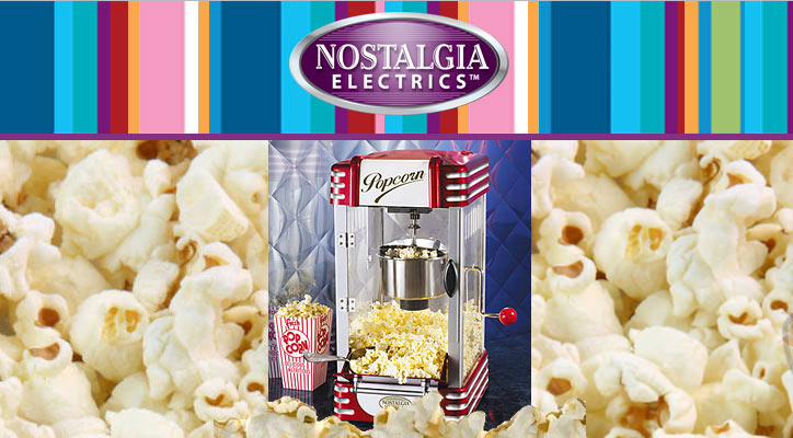 Nostalgia Electric's Retro Series Kettle Popcorn Maker
