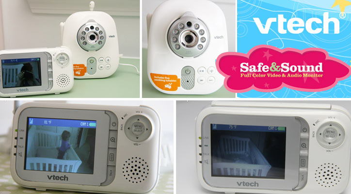 VTech Safe&Sound Full Color Video & Audio Baby Monitor Review