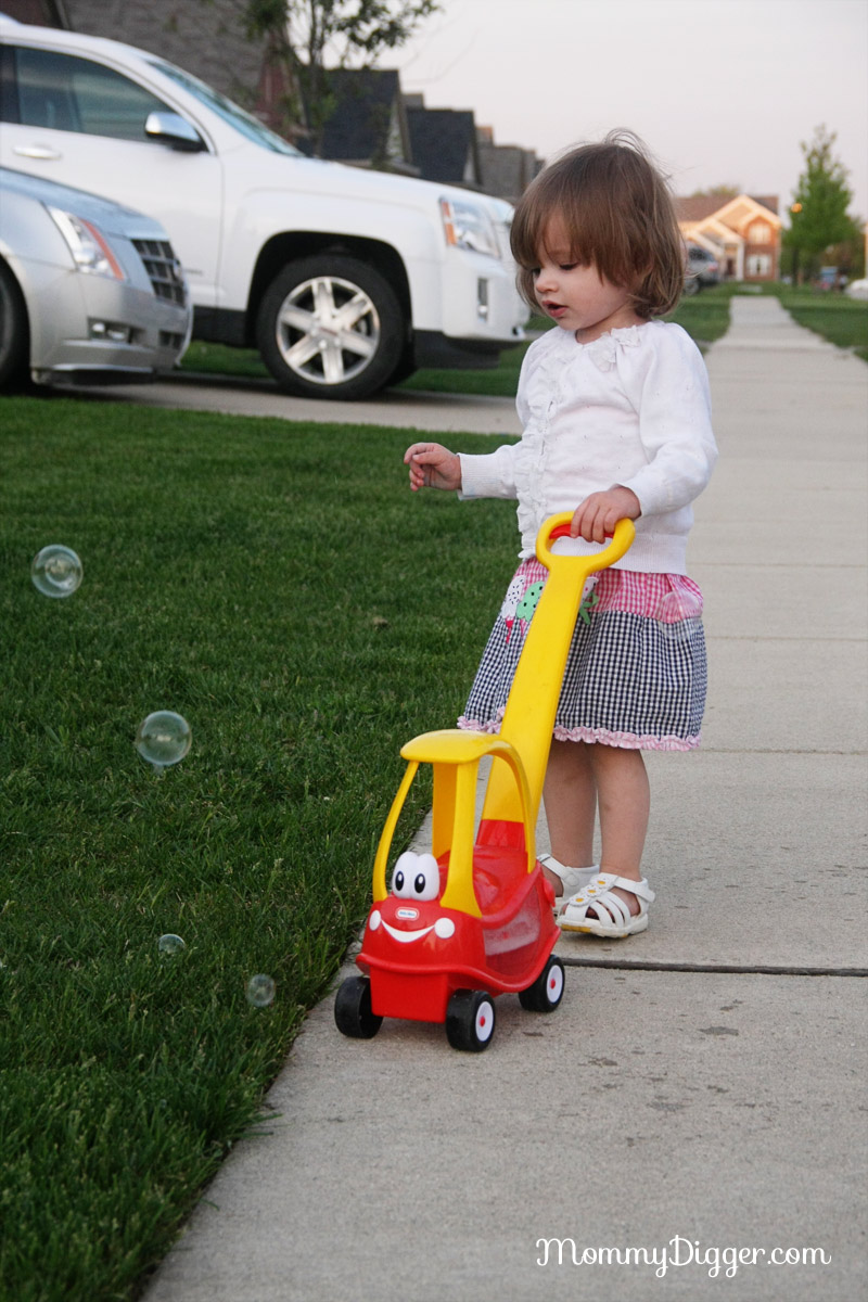 Little Tikes Cozy Coupe Go Bubbles Review