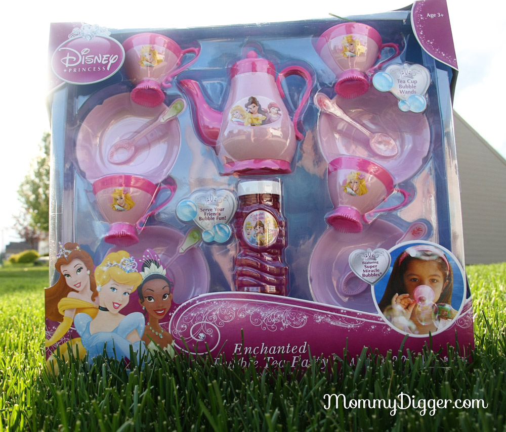 Enchanted Bubble Disney Princess Bubble Tea Set