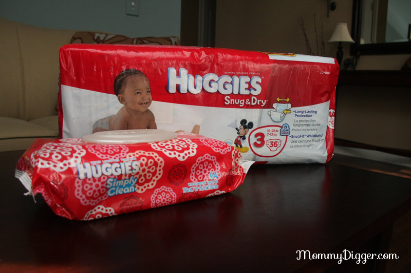 Huggies Snug & Dry-Diapers and Simply Clean Wipes