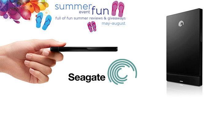 Seagate GoFlex Slim for Mac Review and Giveaway