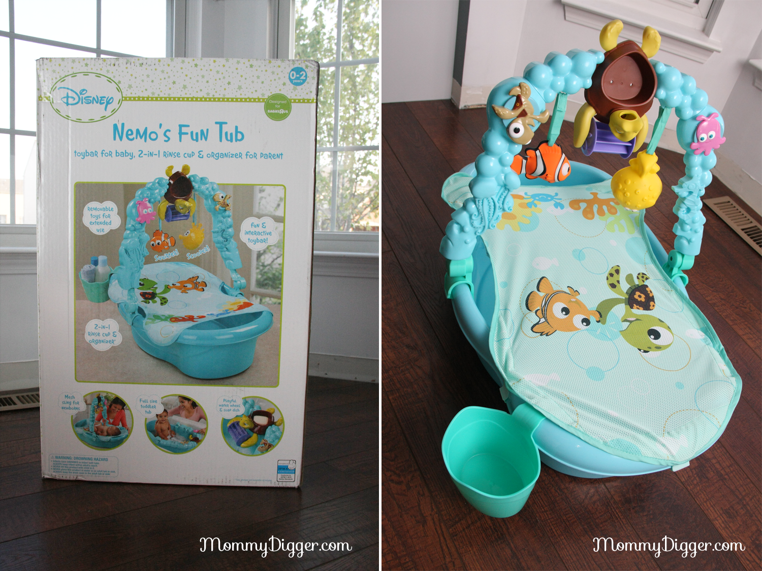 Disney Baby Nemos Fun Tub Review