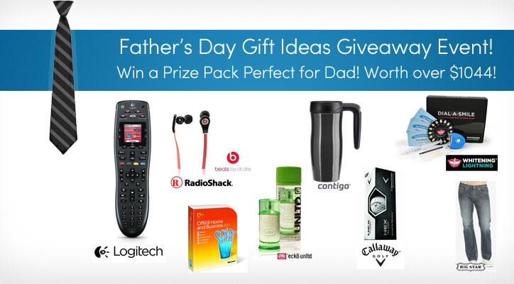 Father's Day Giveaway Prize Pack
