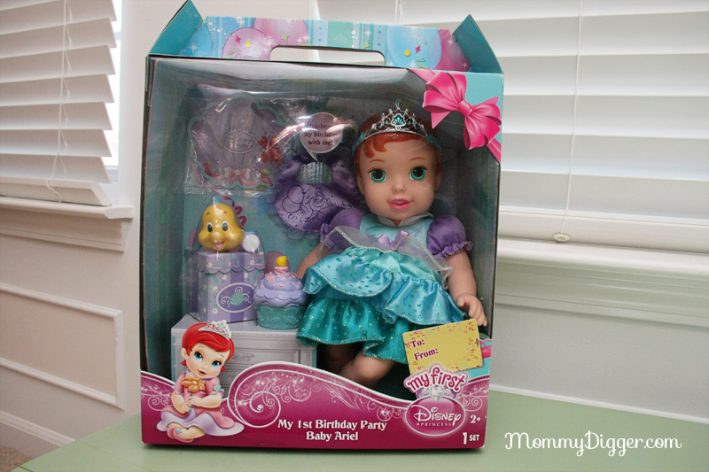 My 1st Birthday Party Disney Princess Doll