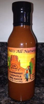 Ali's All Natural Raspberry Chipotle BBQ Sauce