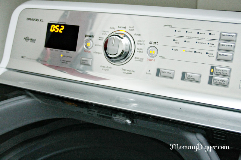 Maytag Bravos XL washer review