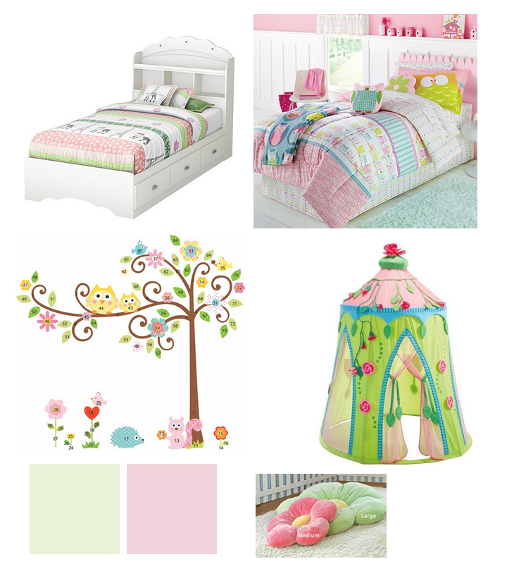 Big Girl Room Design