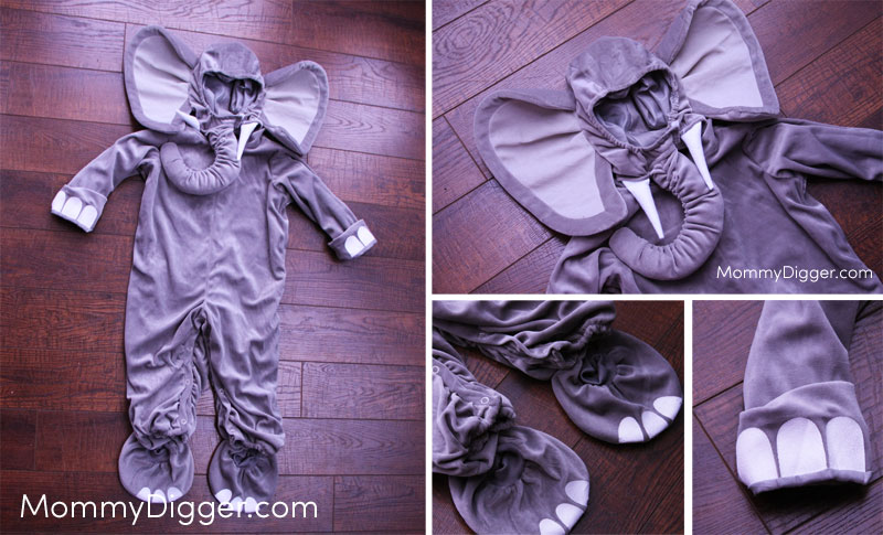 Toddler Elephant Costume Review