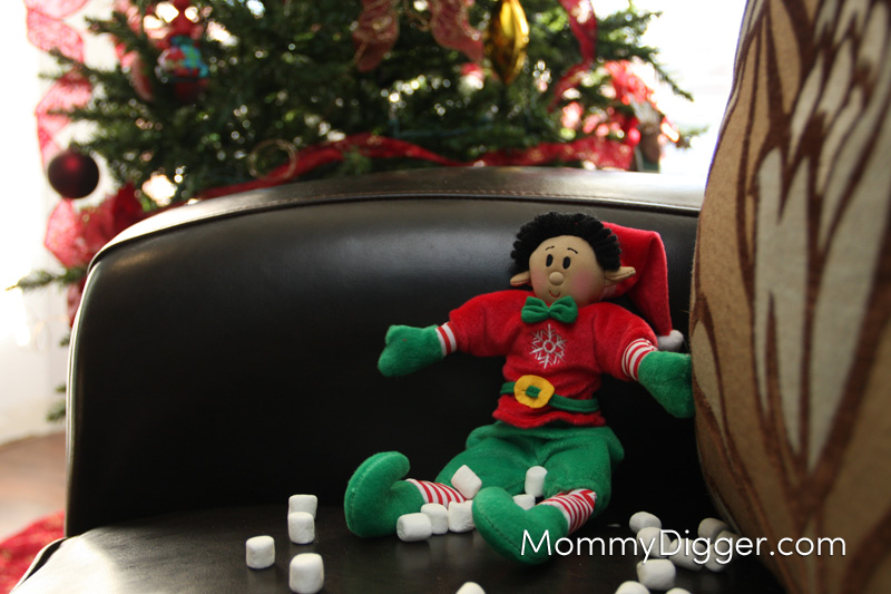 Drake Getting Into the Marshmallows Elf Magic