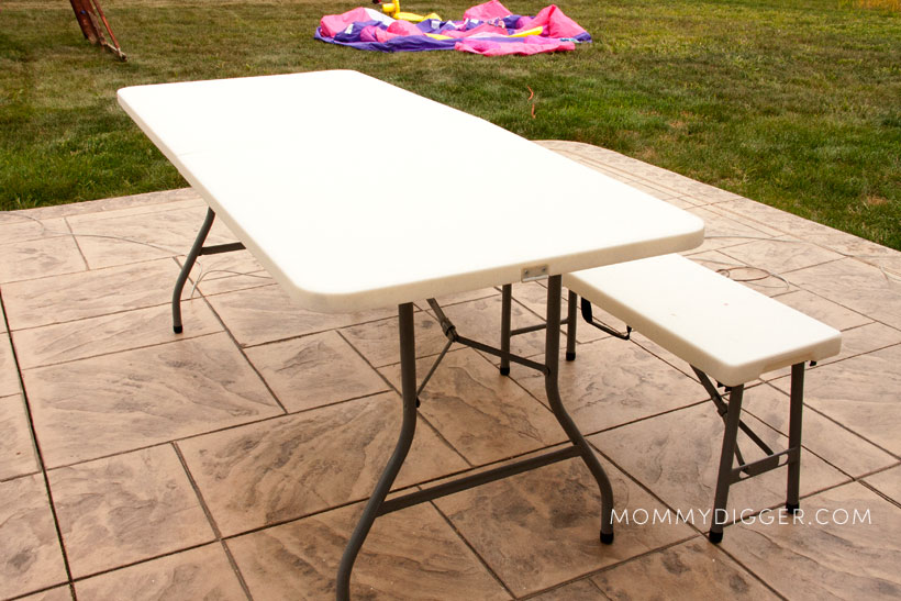 Folding Resin Table and Bench review
