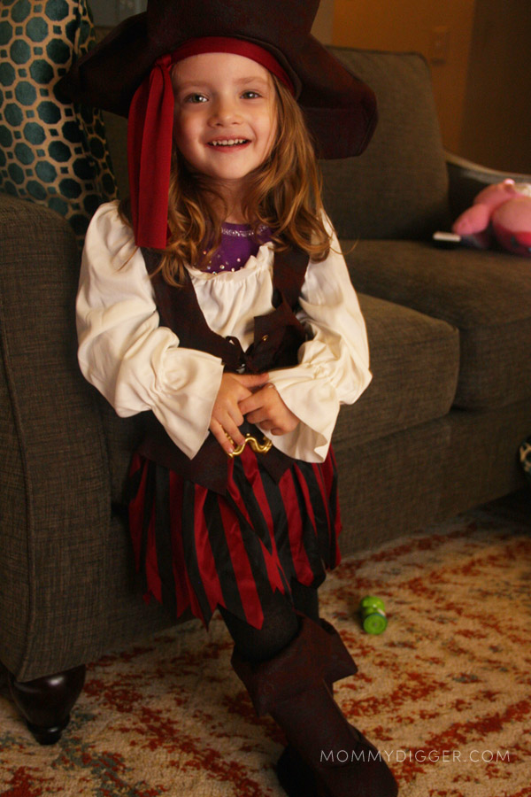 Toddler Pirate Costume Review