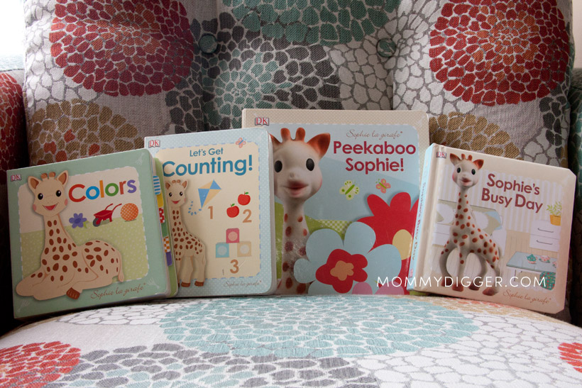 Sofia la girafe board books review