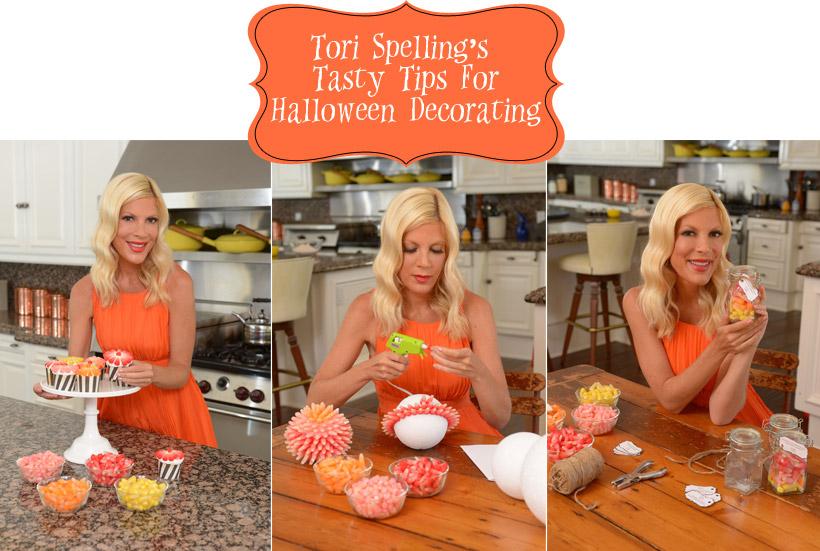 Tori Spelling Halloween Starburst Crafts