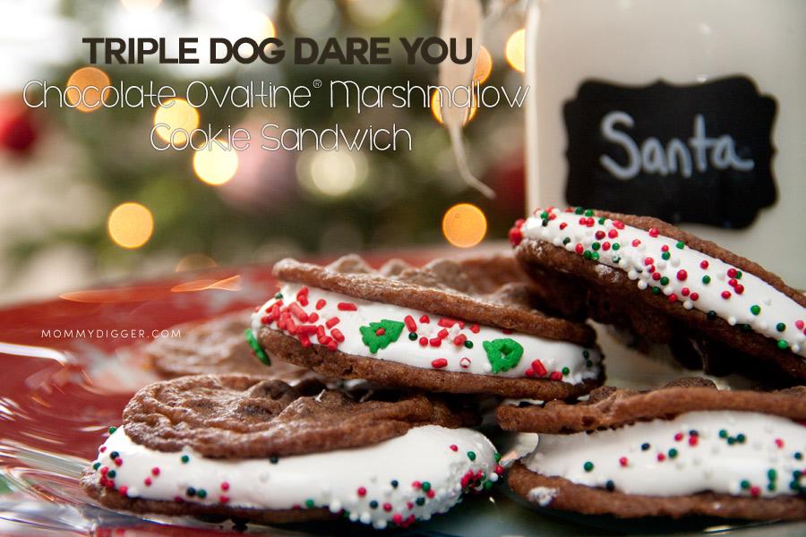 Chocolate Marshmallow Cookie Sandwich