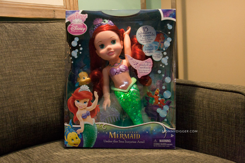 Under the Sea Surprise Ariel doll