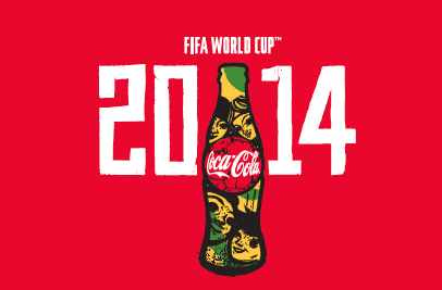 Coca-Cola 2014 FIFA World Cup Bottle