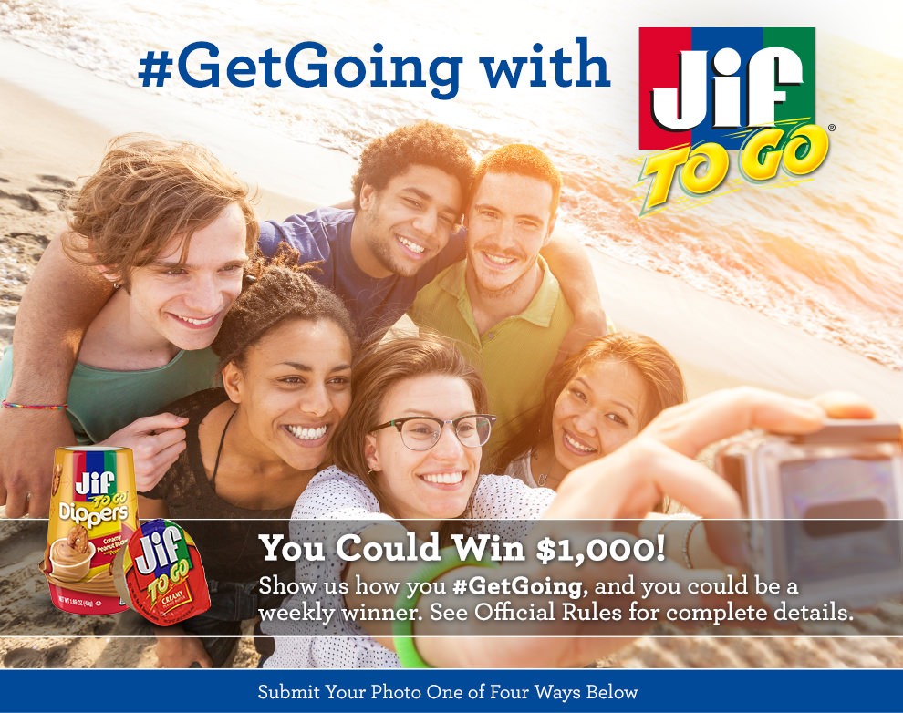 Jif #GetGoing Photo Contest